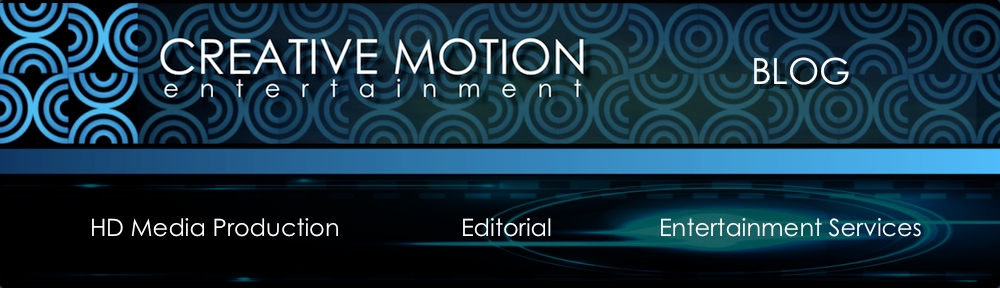 Creative Motion Entertainment Blog